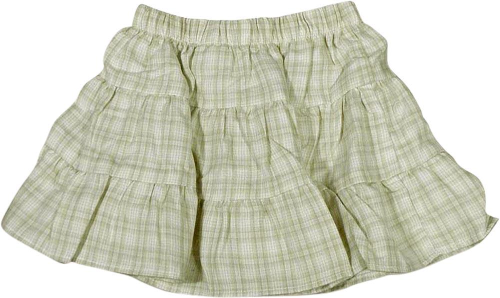 Mulberribush Toddler Girls Flannel Cotton Plaid Skirt Bottoms