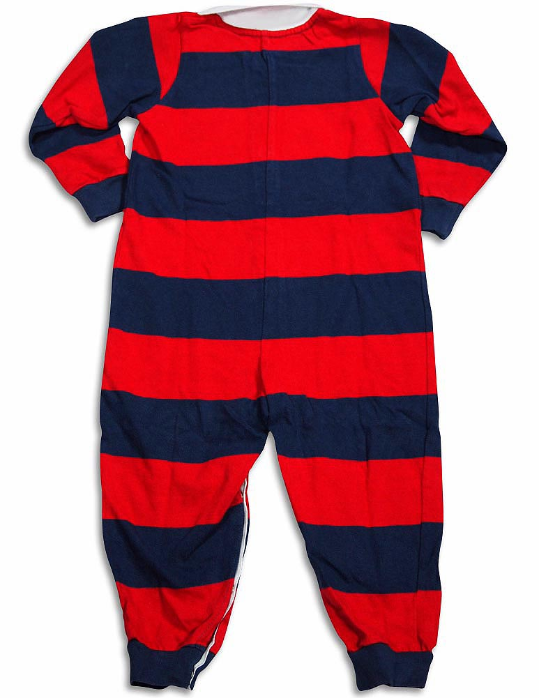 Sara/'s Prints Baby Infant Toddler Boys One Piece Rugby Coverall Playsuit Pajama