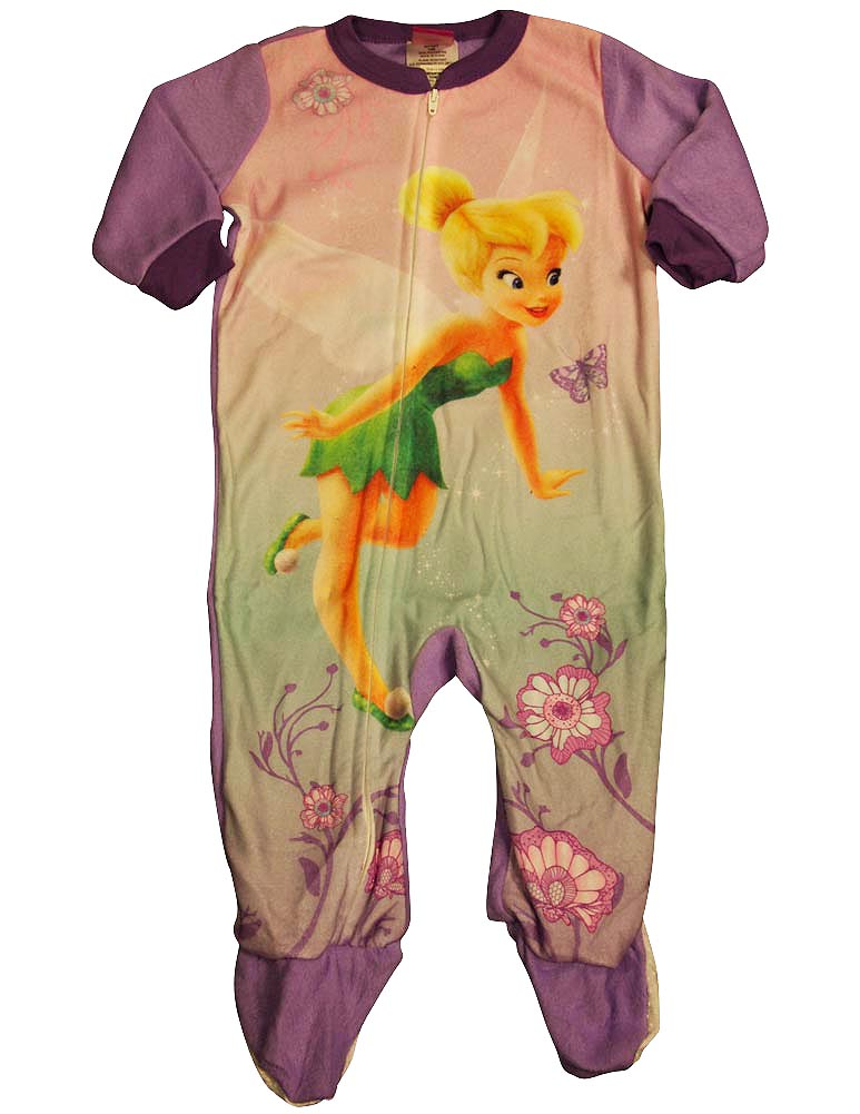 Baby Infant Toddler Girls Disney Princess Footed One Piece