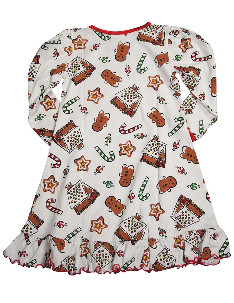 c8a2d31c6c Sara s Prints Toddler Girls Long Sleeve Gown Holiday Ruffle Flame ...