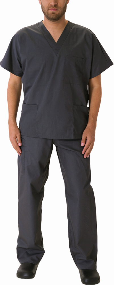 Natural Workwear Mens Authentic Eds Unisex Medical Uniform