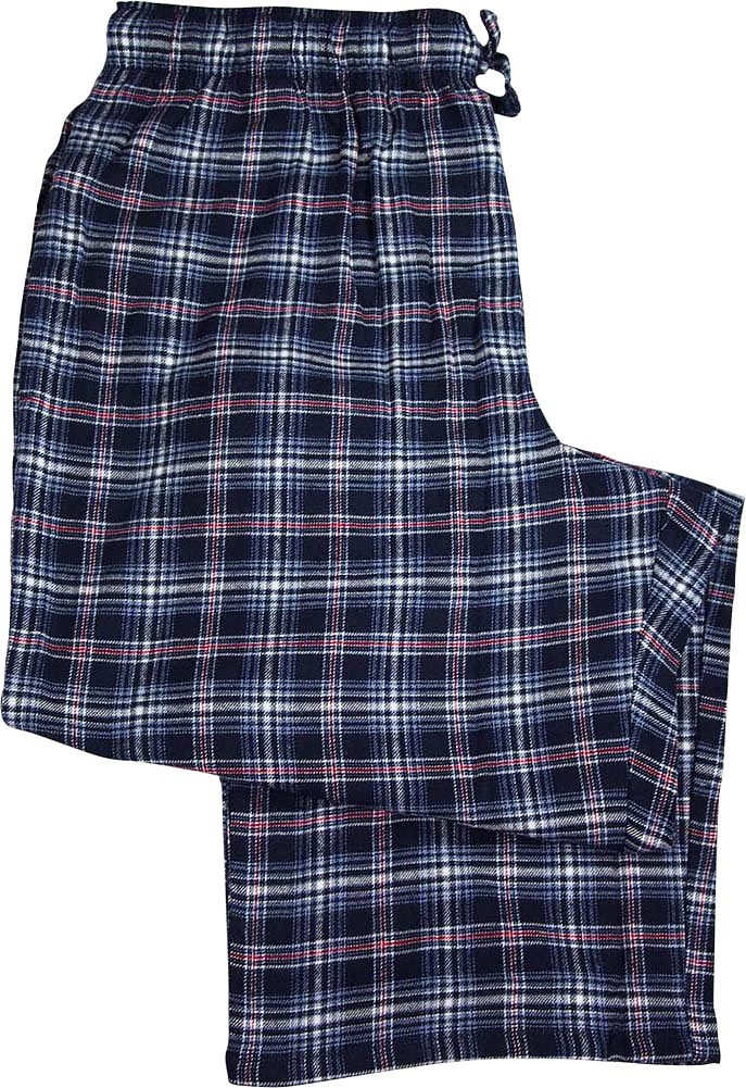 New Fruit of the Loom Mens Big and Tall Flannel Sleep