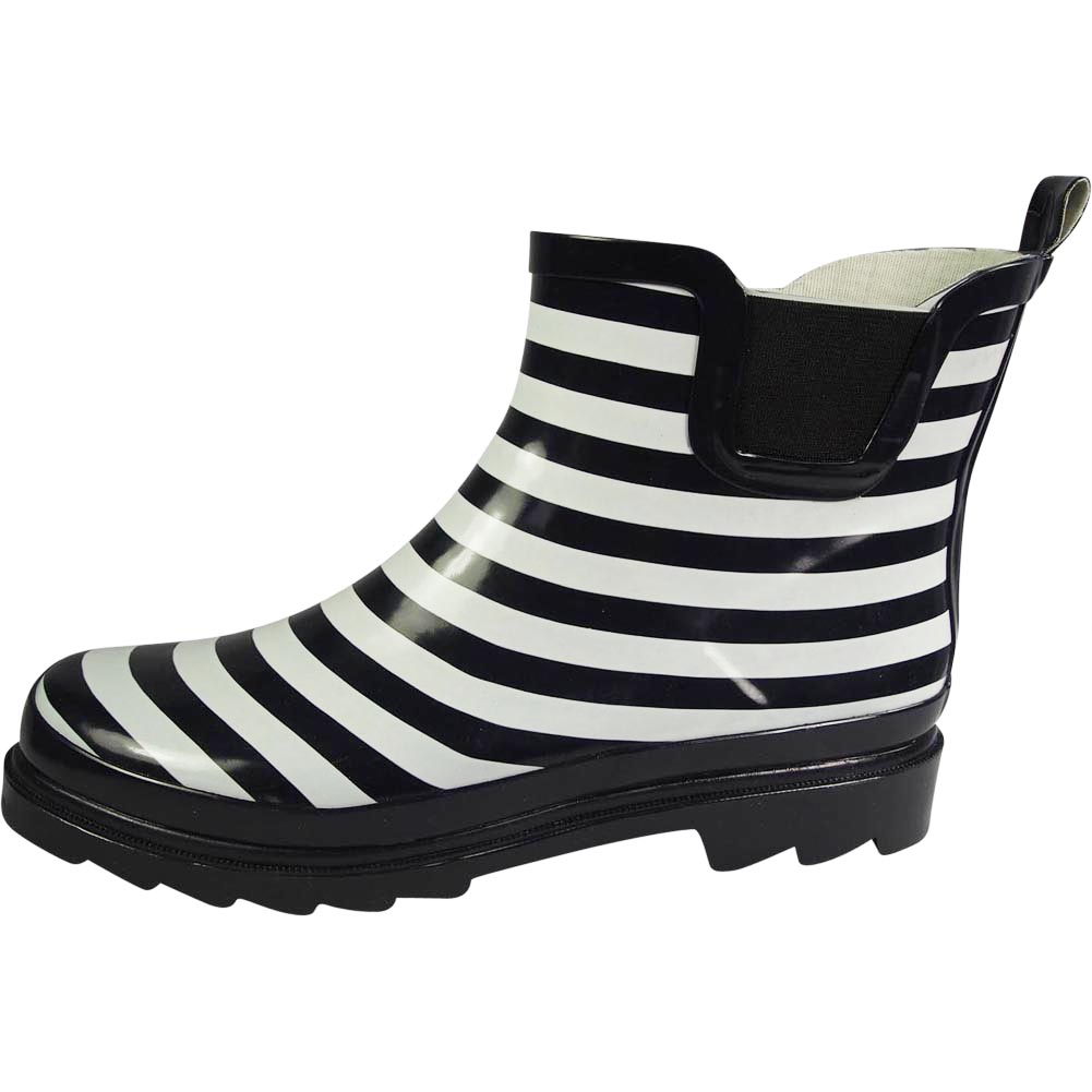 New-Norty-Women-Low-Ankle-High-Rain-Boots-Rubber-Snow-Rainboot-Shoe-Bootie