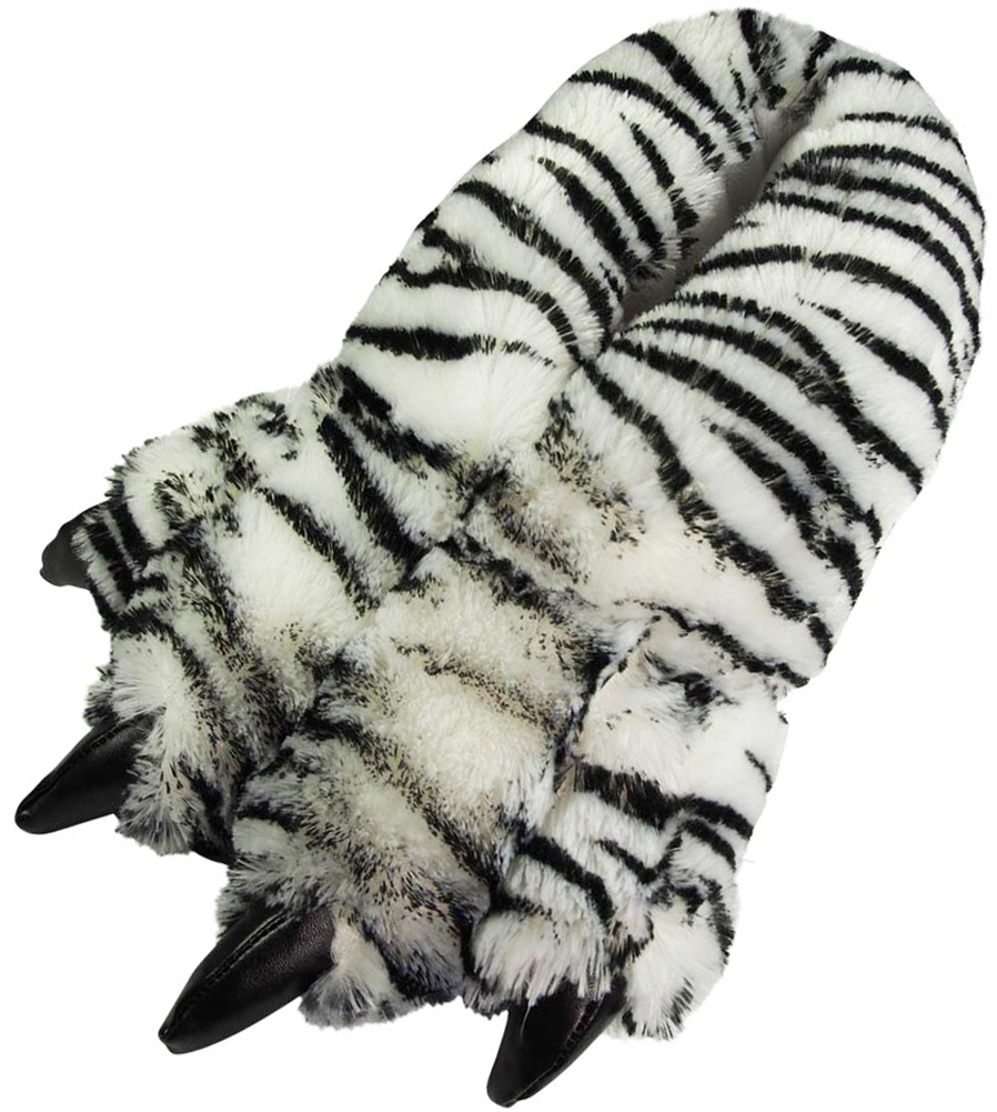 c05953321de2 Women Men Boys Girls Soft Plush Fun Winter Animal Claw Paw Feet ...