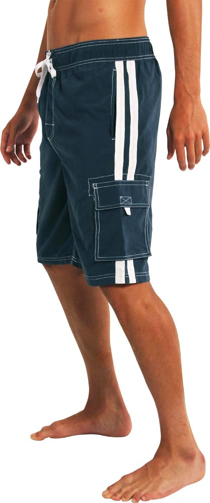 Mens Plus King Size Swimsuit thru 5X Norty Mens Big Extended Size Swim Trunks