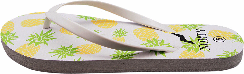 thumbnail 5 - Norty-Women-039-s-Graphic-Print-Flip-Flop-Thong-Sandal-for-Beach-Pool-or-Everyday
