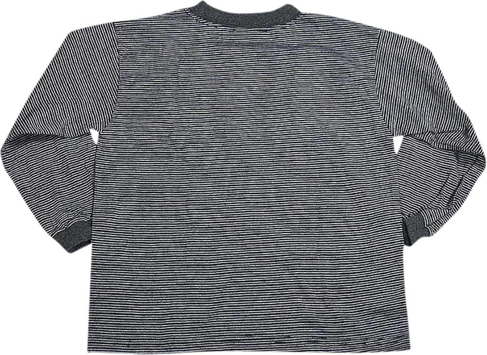 Caribe Boys Size 4 Long Sleeve Striped Tee Shirt Top Ebay