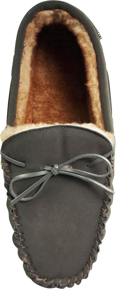 3a06b61af030 Norty Mens Genuine Leather Cowhide Suede Slippers - Moccasin Slip On ...